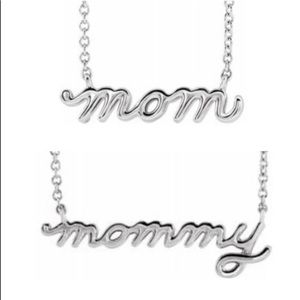 Jewelry - Mothers Day Mom or Mommy Necklace 👸🏻